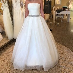 Unaltered sample ROSA CLARA BALL GOWN